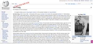 wiki talk link